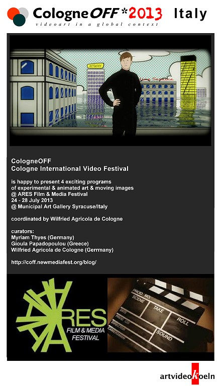 CologneOFF 2013 @ Ares Film & Media Festival