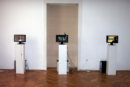 Installations at Arad Art Museum - 31 March -2 April 2011