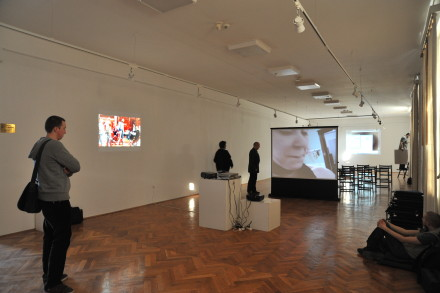 Projections at Arad Art Museum - 31 March -2 April 2011