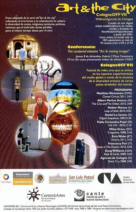 CologneOFF 2011 Mexico @ Centro de las arties San Luis Potosi