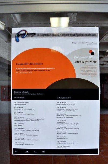 UAM - Media fest 2011 - CologneOFF 2011 - videoart in a global context